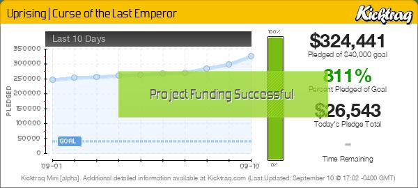 Uprising | Curse of the Last Emperor -- Kicktraq Mini