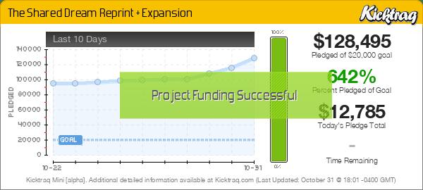 The Shared Dream Reprint + Expansion -- Kicktraq Mini