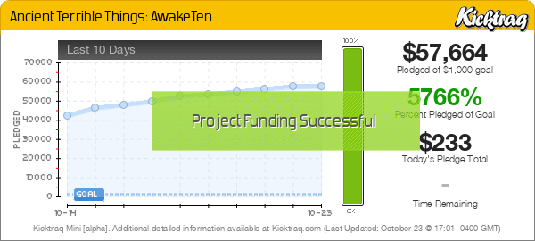 Ancient Terrible Things: AwakeTen -- Kicktraq Mini