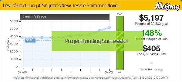 Devils' Field: Lucy A. Snyder's New Jessie Shimmer Novel -- Kicktraq Mini