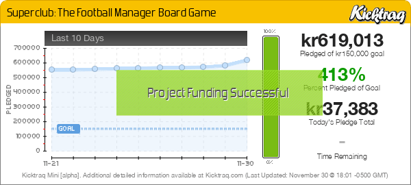 Superclub: The Football Manager Board Game -- Kicktraq Mini