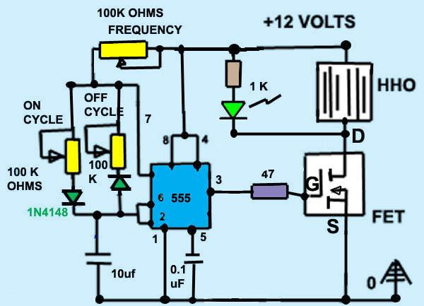 Dry Hydrogen Generator Plans