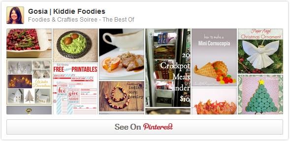 FoodiesCraftiesSoiree Pinterest board