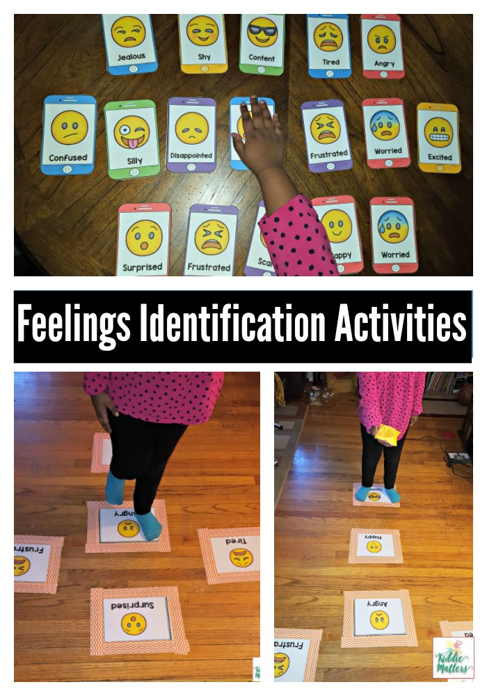 Emotion Regulation Feelings Identification Activities