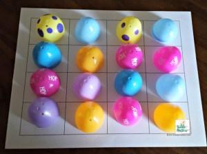 plastic easter egg feelings match