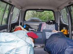 Sleeping-in-the-car!