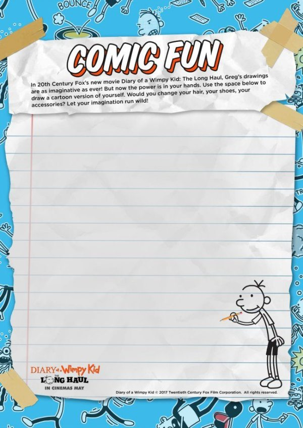 diary of a wimpy kid coloring pages # 51
