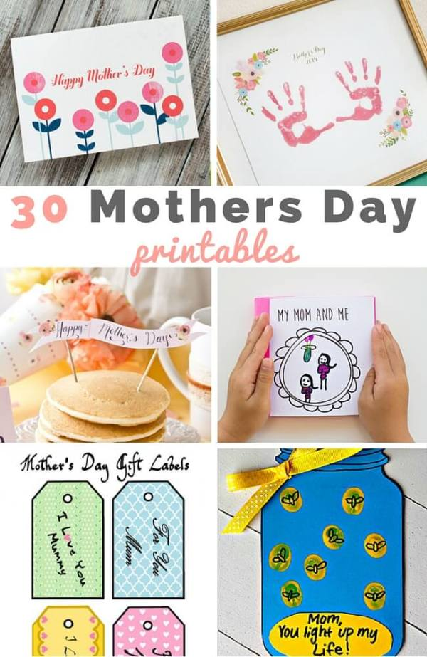 30 Mothers Day printables