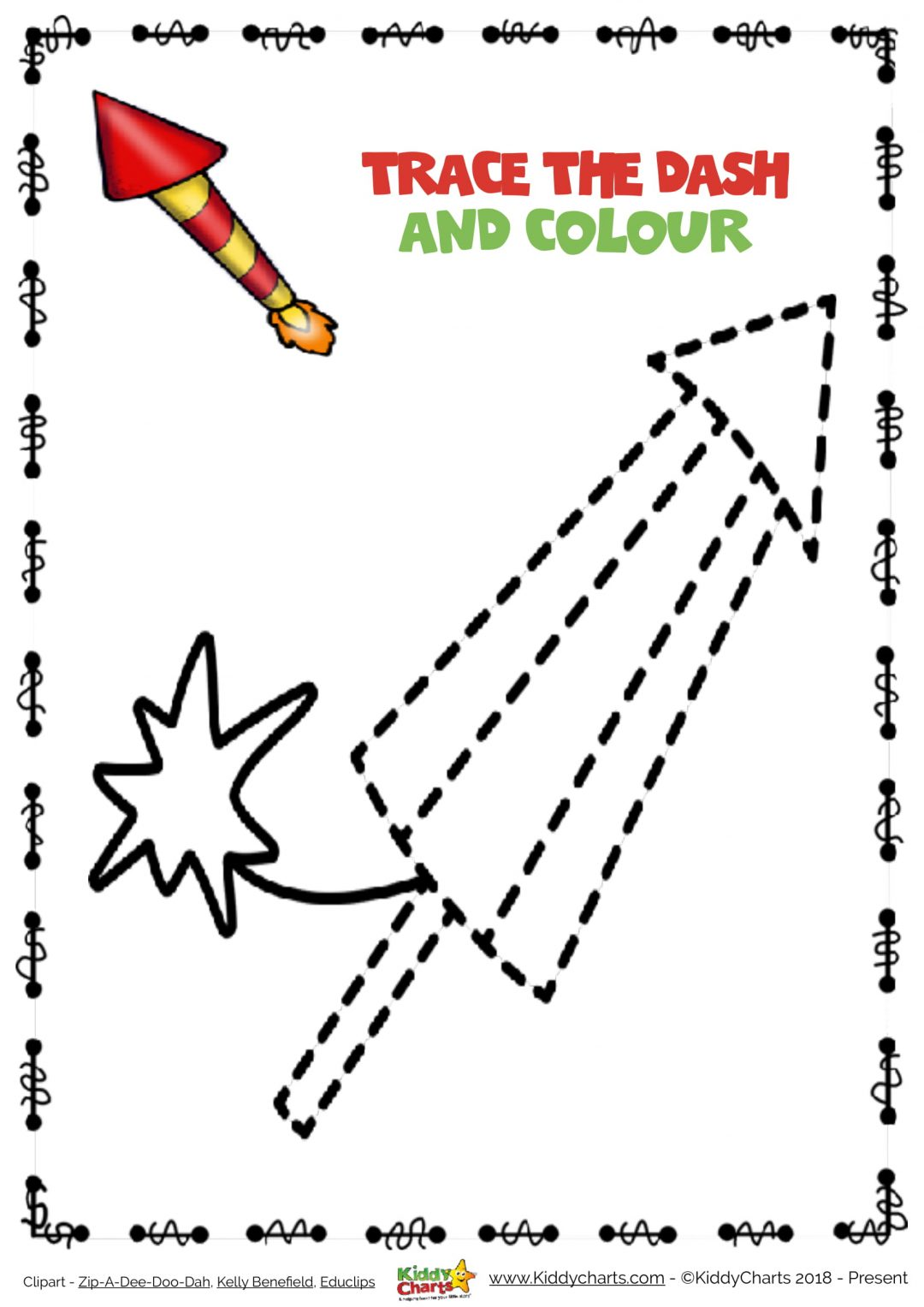 Fun Free Firework Printables For The Fourth Of July And Bonfire Night