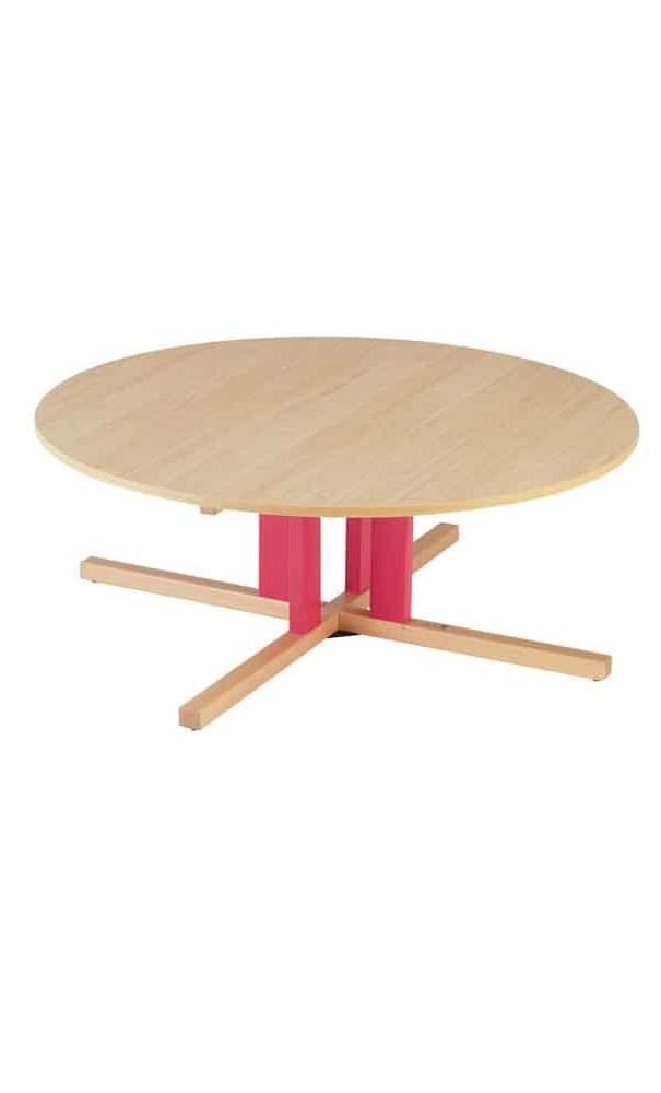 table ronde avec pieds centrale t00 a t3