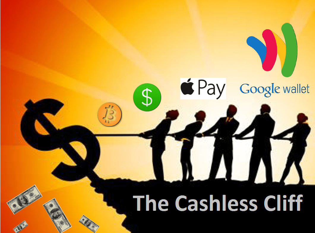 Image result for cashless society
