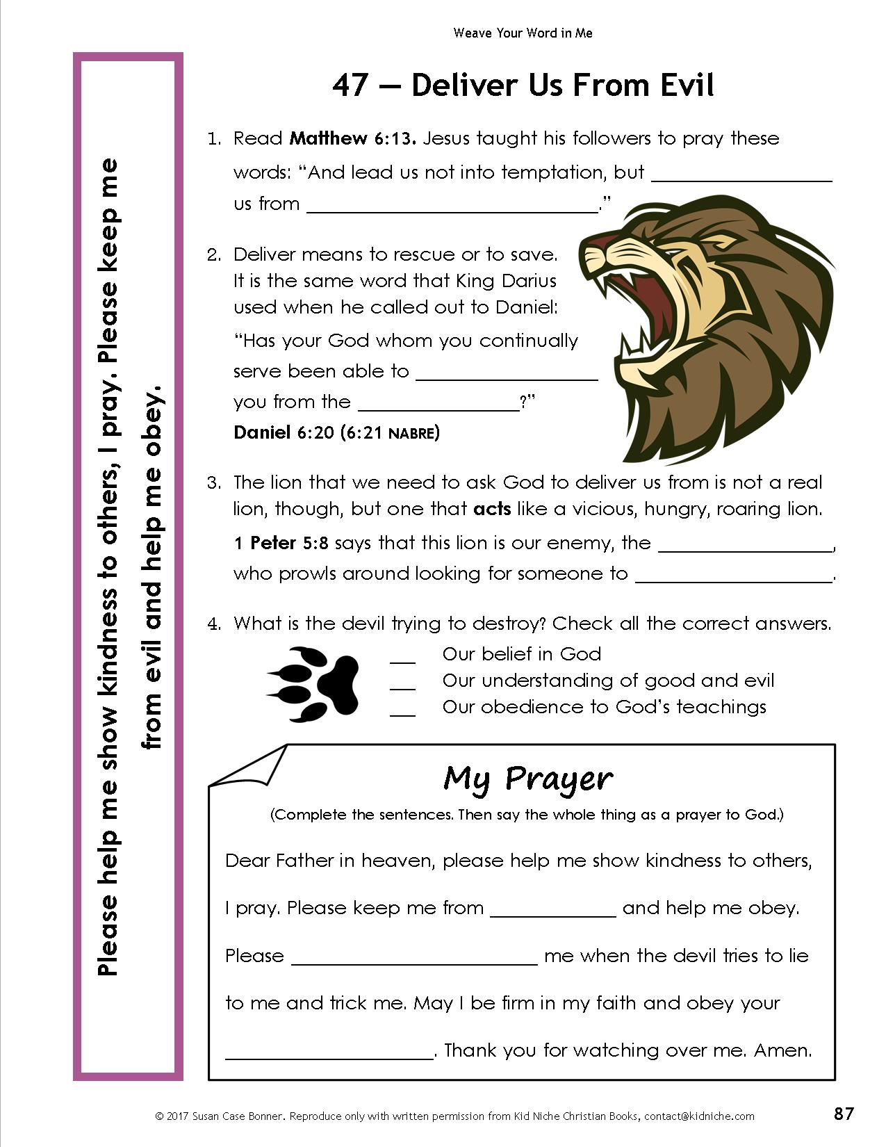 Bible And Prayer Curriculum For Tweens