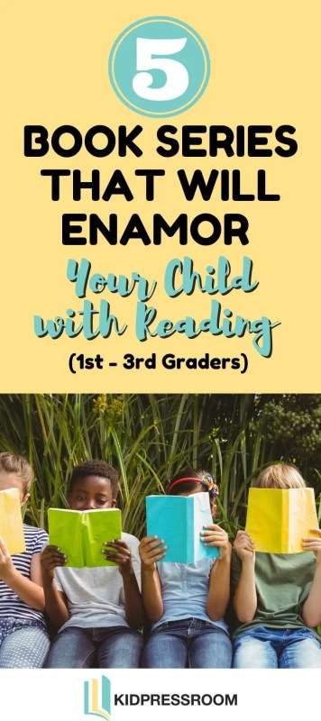 Enticing Book Series for 1st-3rd Graders - KIDPRESSROOM