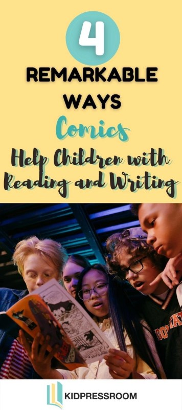 How Comics Help Children with Reading and Writing- KIDPRESSROOM