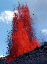 Igneous rock (derived from the Latin word ignis meaning f...