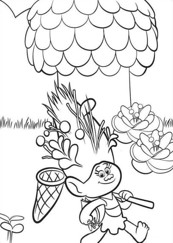 26 Coloring Pages Of Trolls