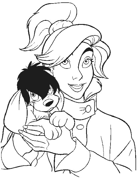 anastasia coloring pages # 12
