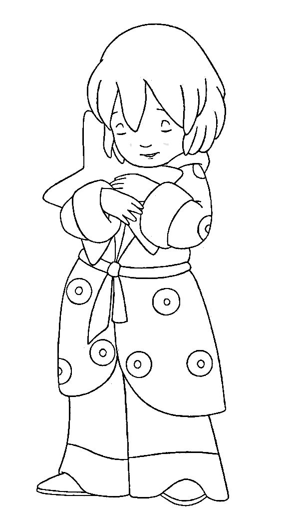 6 Coloring Pages Of Lauras Star