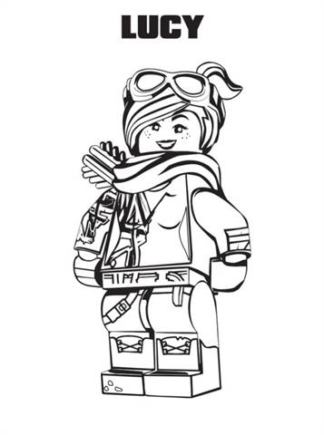 Kids N Fun Com 13 Coloring Pages Of Lego Movie 2