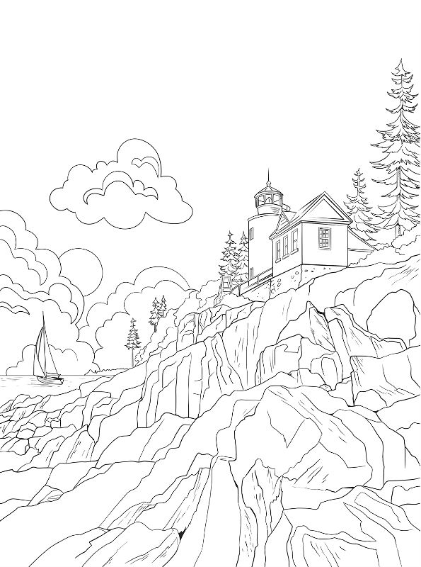 16 Coloring Pages Of National Parks