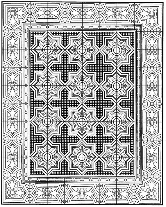 Kids n funcom 30 coloring pages tiles, fun coloring pages