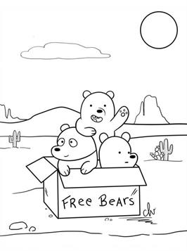 bears coloring pages # 48