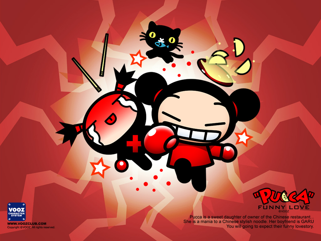 Kids n funcom wallpaper pucca pucca, i love u coloring pages