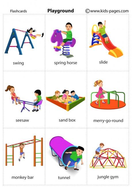 Playground Flashcard
