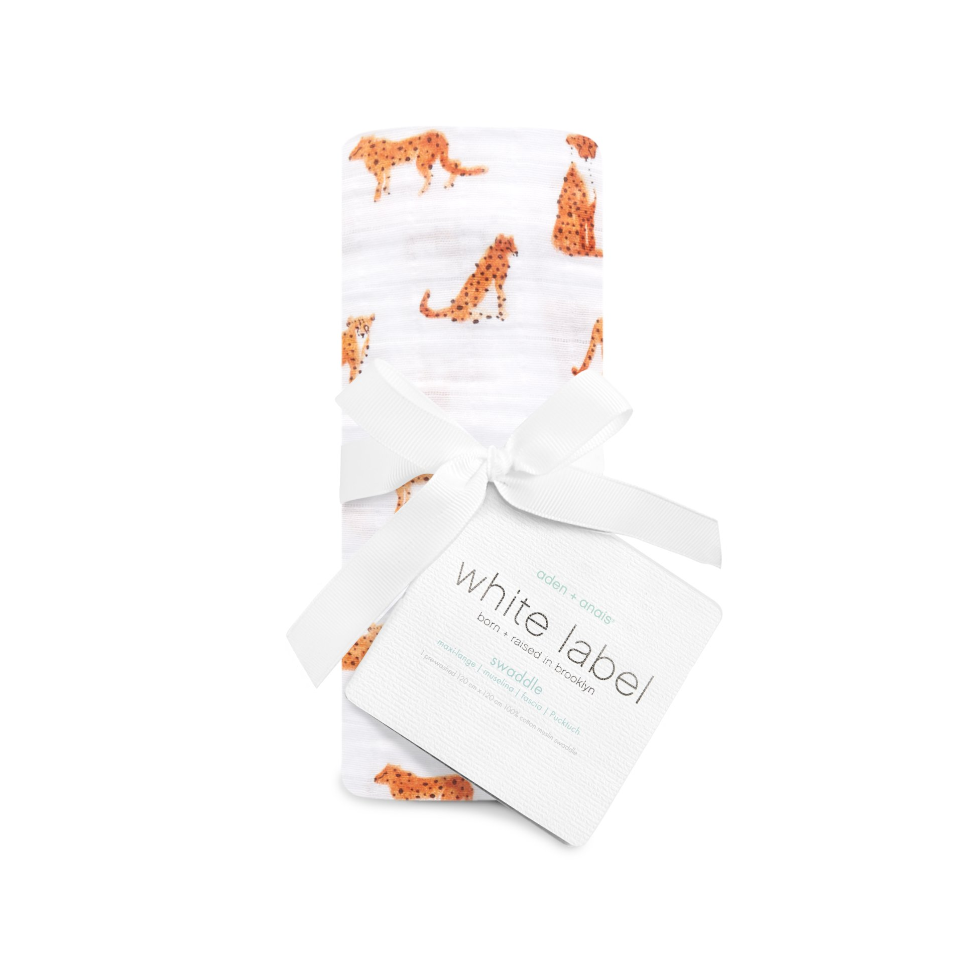 Aden Anais White Label Silky Soft Swaddle Single Pack