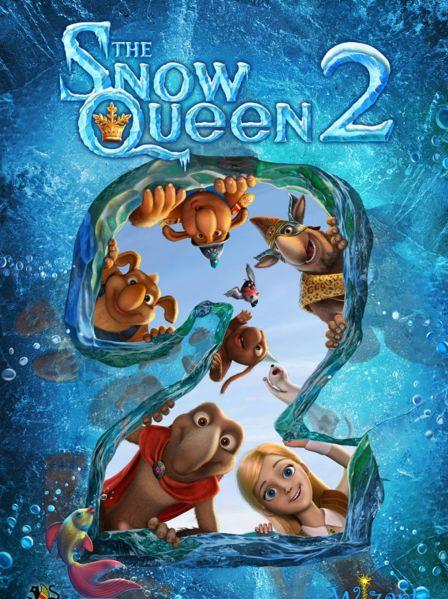 فلم الكرتون ملكة الثلج الجزء الثاني The Snow Queen 2 2014