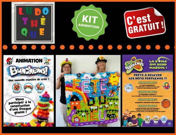 Kit d'animation fête du jeu