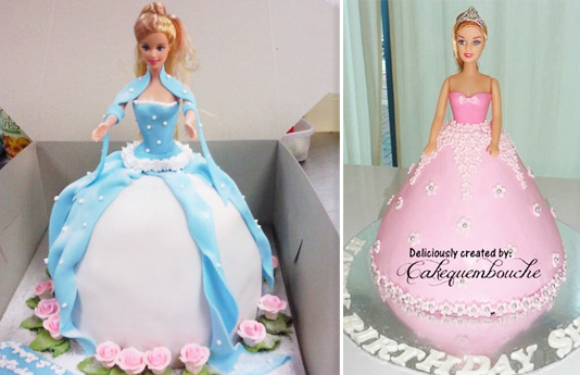Princesscakes Barbie