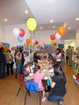 Kids art birthday parties in NYC