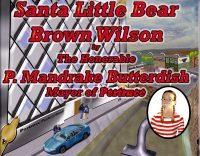 Santa Little Bear Brown Wilson