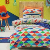 Dino Land Quilt Cover Set