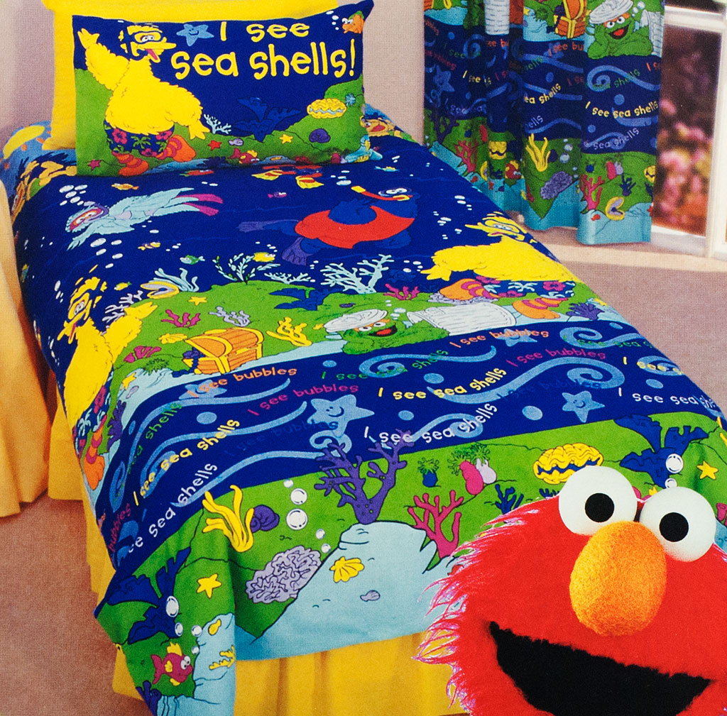 Sesame Street Bedroom Kids Bedding Dreams
