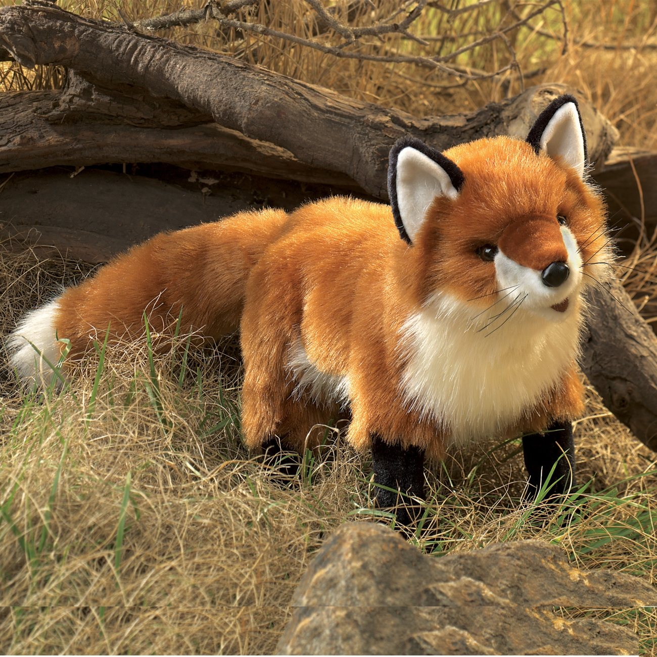 Red Fox Puppet With Moveable Mouth By Folkmanis Puppets