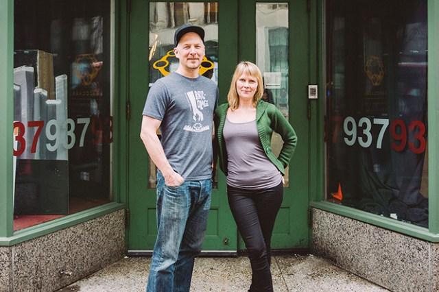 Tami Dixon and Jeffrey Carpenter of Bricolage Production Company
