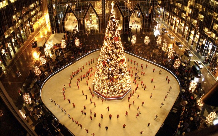 MassMutual Ice Skating Rink at PPG Place, Photo courtesy of PPG Place