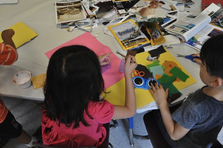 Art camps at Pittsburgh Center for the Arts, Photo courtesy of Pgh Center for the Arts