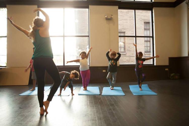 Pilot program of the Pittsburgh Yoga Collective, Photo courtesy of Pittsburgh Yoga Collective