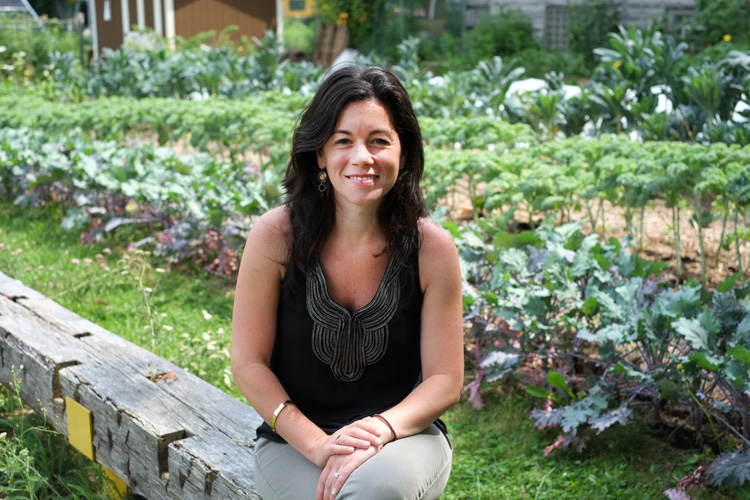 Julie Pezzino of Grow Pittsburgh, Photo by Brian Cohen