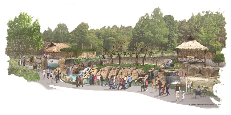 Pittsburgh Zoo's Islands expansion.