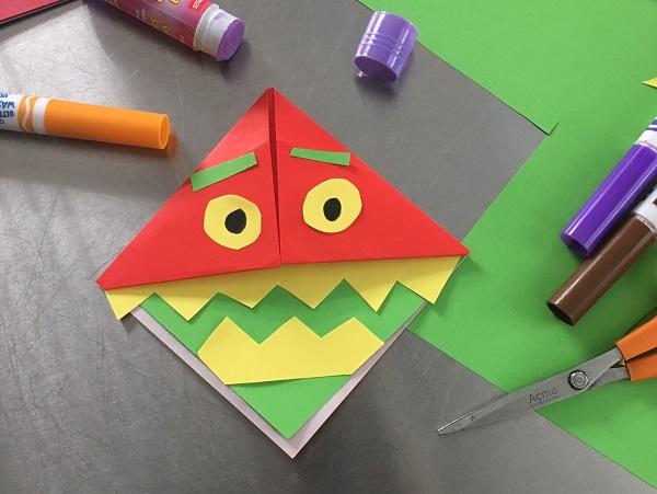 Maker Monday: Monster Bookmark