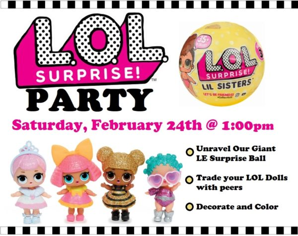 Lol Doll Surprise Party Kidsburgh