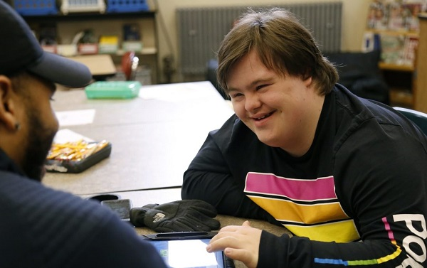 Colton, a Down syndrome kid, is headed to college via inclusive higher ed programs