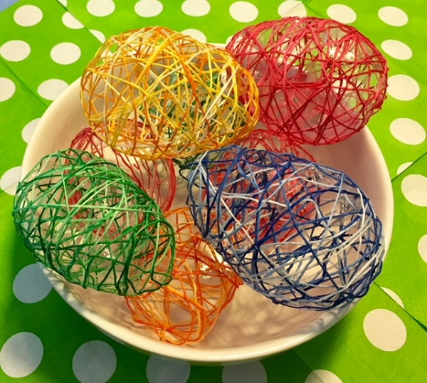 Maker Monday: String Eggs