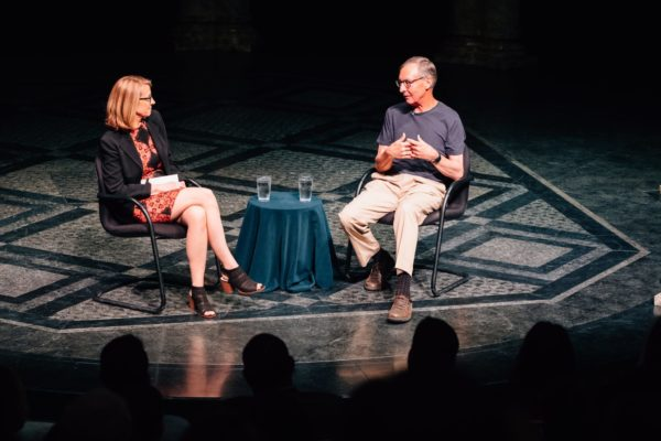 Ted Dintersmith and Tracy Certo in Pittsburgh
