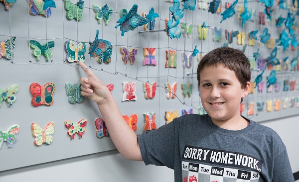 The goal: 1 butterfly for each child killed in the Holocaust