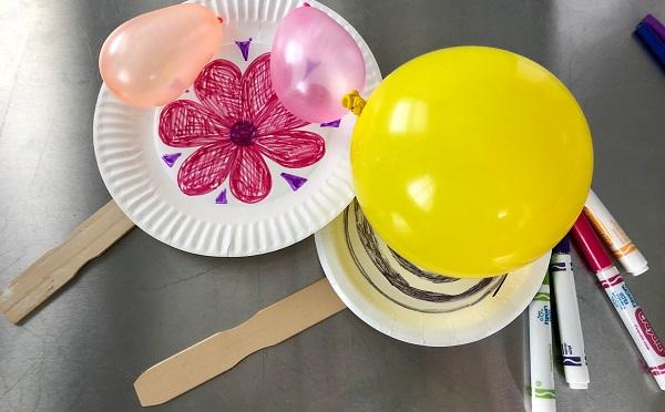 Maker Monday: Balloon Tennis